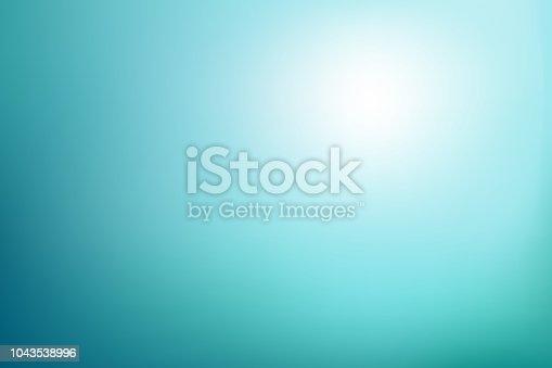 Underwater sunlight colors. Vector illustration