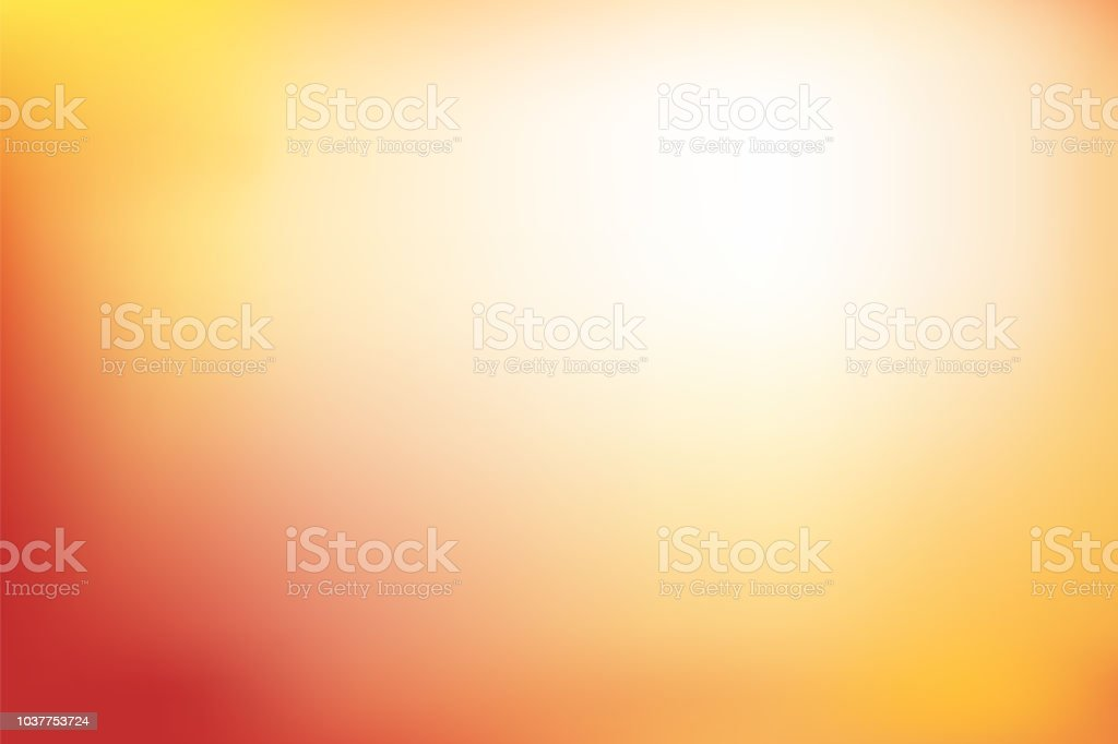 Abstract blurred background in red, orange and yellow tone - Royalty-free Abstract stock vector