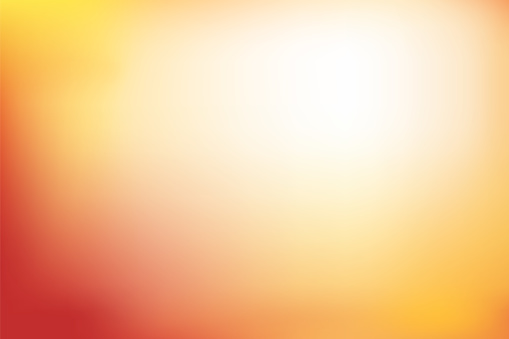 Abstract Blurred Background In Red Orange And Yellow Tone Stock Illustration - Download Image Now