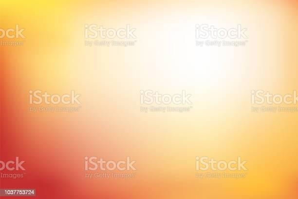 Abstract Blurred Background In Red Orange And Yellow Tone - Arte vetorial de stock e mais imagens de Abstrato
