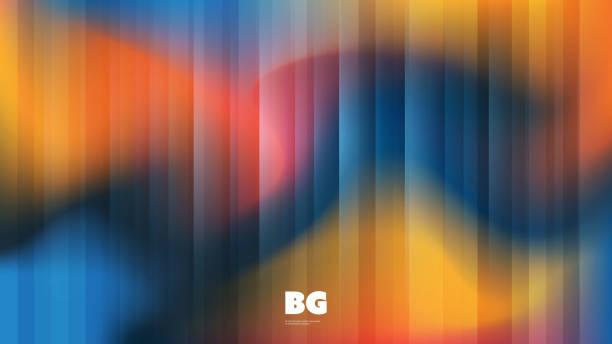 abstrakte verschwommene hintergrund - morphing stock-grafiken, -clipart, -cartoons und -symbole