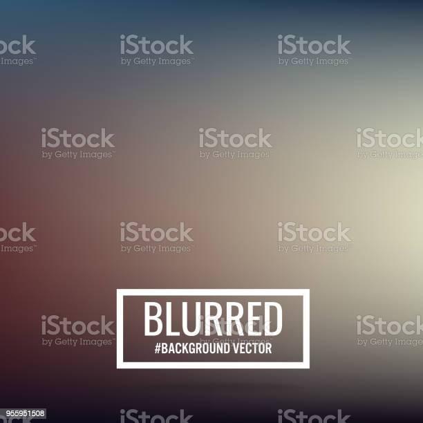 Abstract Blurred Background - Arte vetorial de stock e mais imagens de Abstrato