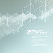 Abstract blurred background with   triangles.  Vector illustration