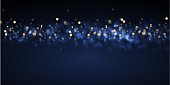 Abstract Blurred Bokeh Light Background