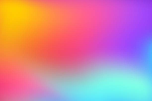 Abstract Blurred Colorful Background Abstract Blurred Colorful Background color gradient stock illustrations
