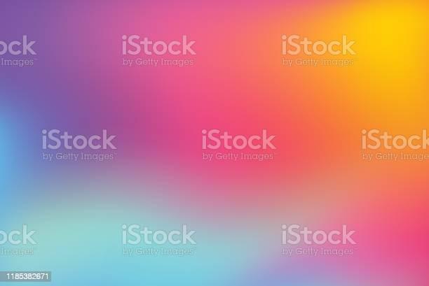 Abstract Blurred Colorful Background - Arte vetorial de stock e mais imagens de Abstrato
