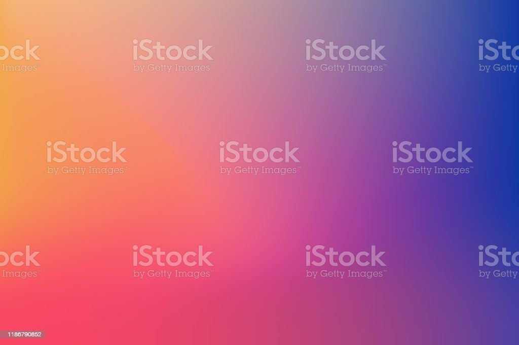 Abstract Blurred Colorful Background - Royalty-free Abstrato arte vetorial