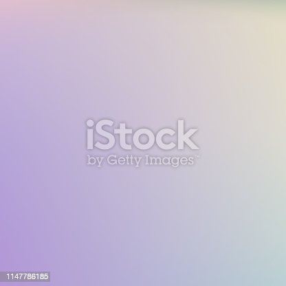 Abstract blurred Holographic gradient background Modern minimal design.