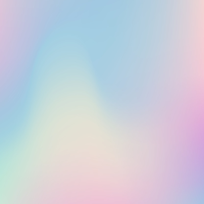 Abstract blurred Holographic gradient background.Modern minimal design.