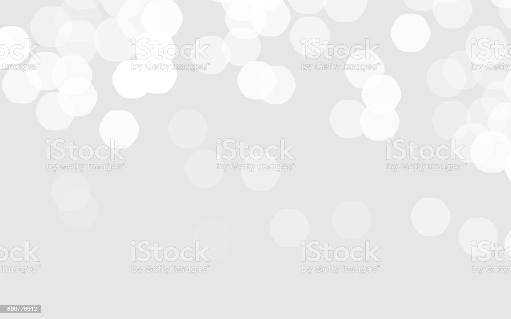 Abstract blurred illustration. Vector bokeh background. vector art illustration