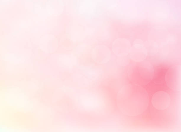 Abstract blurred soft focus bokeh of bright pink color background Abstract blurred soft focus bokeh of bright pink color background concept, copy space, Vector illustration comfort stock illustrations
