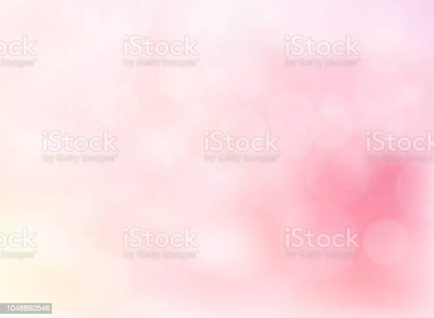 Bokeh Soft Focus Sfocato Astratto Di Sfondo Di Colore Rosa Brillante - Immagini vettoriali stock e altre immagini di Amore