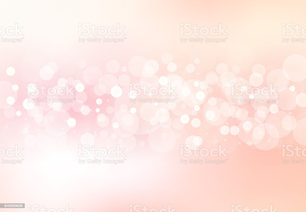 Abstract blurred soft focus bokeh of bright pink color background concept, copy space, Vector illustration vector art illustration