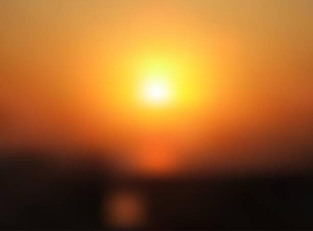 stockillustraties, clipart, cartoons en iconen met abstracte wazig zonsondergang achtergrond. - twilight
