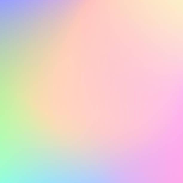 abstrakcyjne rozmazane pastelowe kolorowe tło - pastelowy kolor stock illustrations