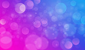 Abstract bokeh lights effect with purple blue background, bokeh texture, bokeh background, vector illustration for graphic design