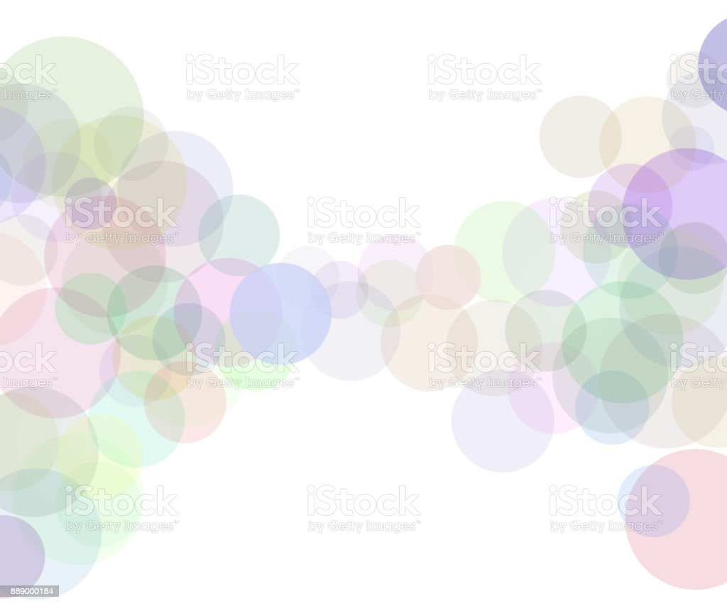 Abstract bokeh sunbeams effect isolated on white background vector art illustration