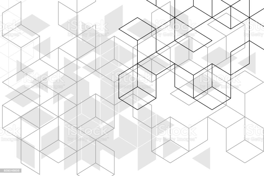 Abstract boxes background royalty-free abstract boxes background stock illustration - download image now