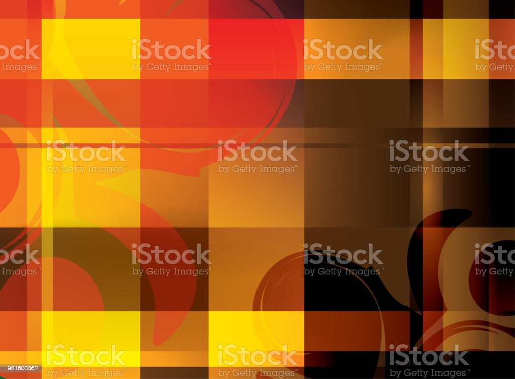 abstract bright background with crossed lines - vector vector art illustration