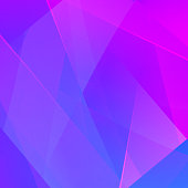 Abstract background with bright blue and pink gradient. Vector illustration.