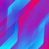 Abstract bright colors lines background. Vector illustration.