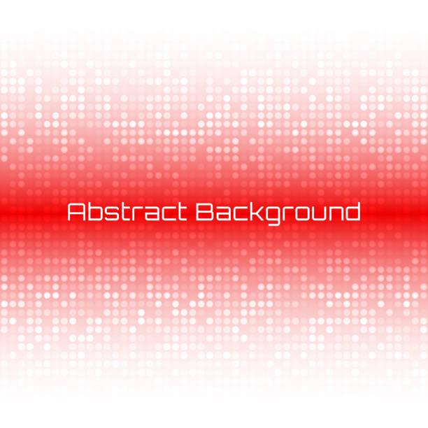 ilustrações de stock, clip art, desenhos animados e ícones de abstrato luz brilhante vermelho tecnologia negócios fundo de cobertura - vr red background
