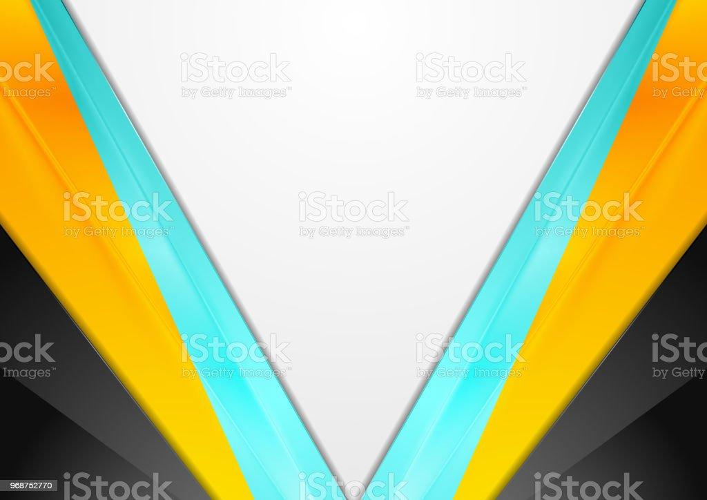 Abstract bright modern tech corporate background vector art illustration