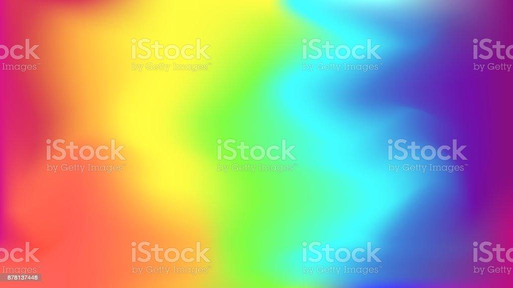 Abstracta fondo brillante arco iris borroso - ilustración de arte vectorial