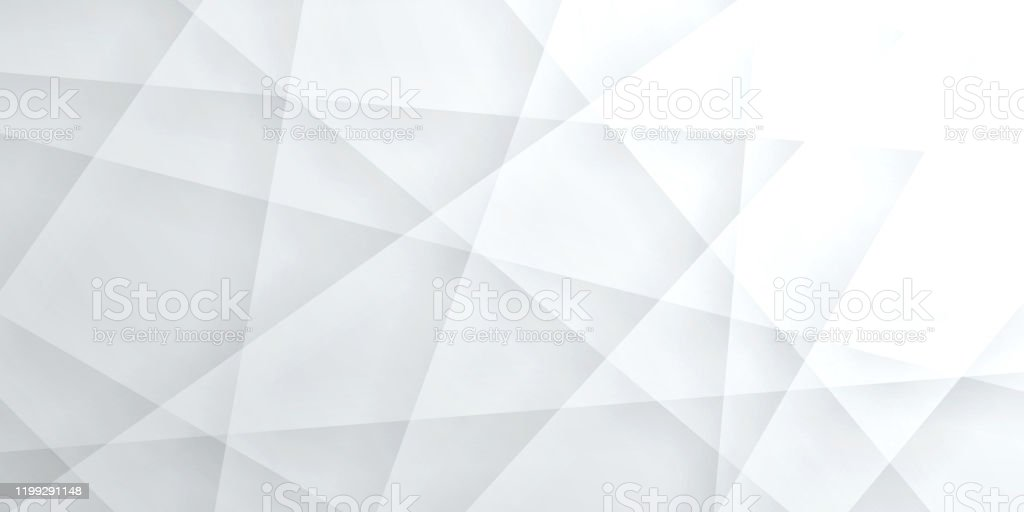 Abstract bright white background - Geometric texture - Royalty-free Abstract stock vector