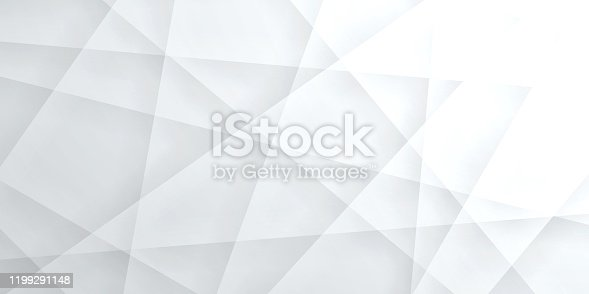 istock Abstract bright white background - Geometric texture 1199291148