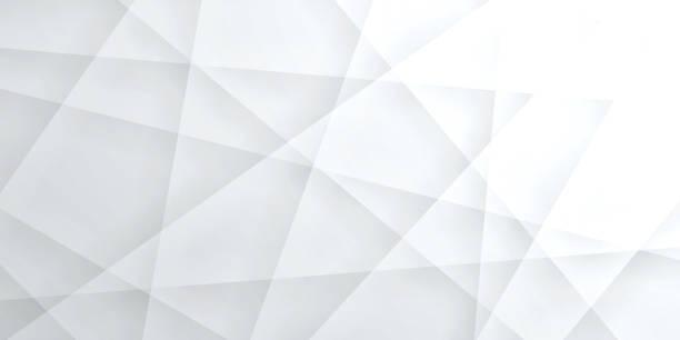 ilustraciones, imágenes clip art, dibujos animados e iconos de stock de fondo blanco brillante abstracto - textura geométrica - abstract background