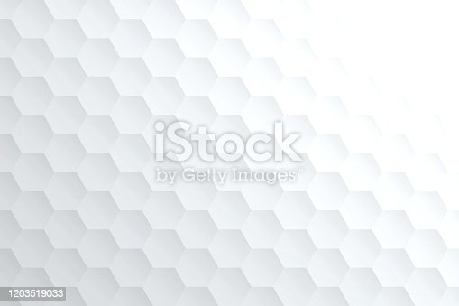istock Abstract bright white background - Geometric texture 1203519033