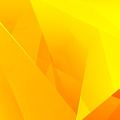 Abstract background with bright yellow gradient. Vector illustration.