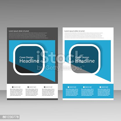 909923870istockphoto Abstract brochure design. Modern cover backgrounds. Vector template 861230778