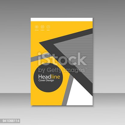 909923870istockphoto Abstract brochure design. Modern cover backgrounds. Vector template 941066114