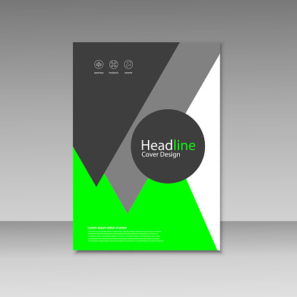 909923870 istock photo Abstract brochure design. Modern cover backgrounds. Vector template 941066158