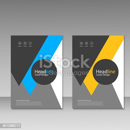 909923870istockphoto Abstract brochure design. Modern cover backgrounds. Vector template 941066212