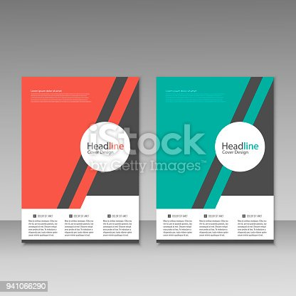 909923870istockphoto Abstract brochure design. Modern cover backgrounds. Vector template 941066290