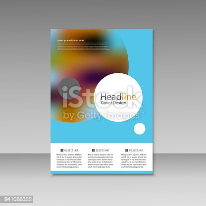909923870istockphoto Abstract brochure design. Modern cover backgrounds. Vector template 941066322