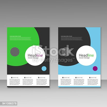 909923870istockphoto Abstract brochure design. Modern cover backgrounds. Vector template 941066378