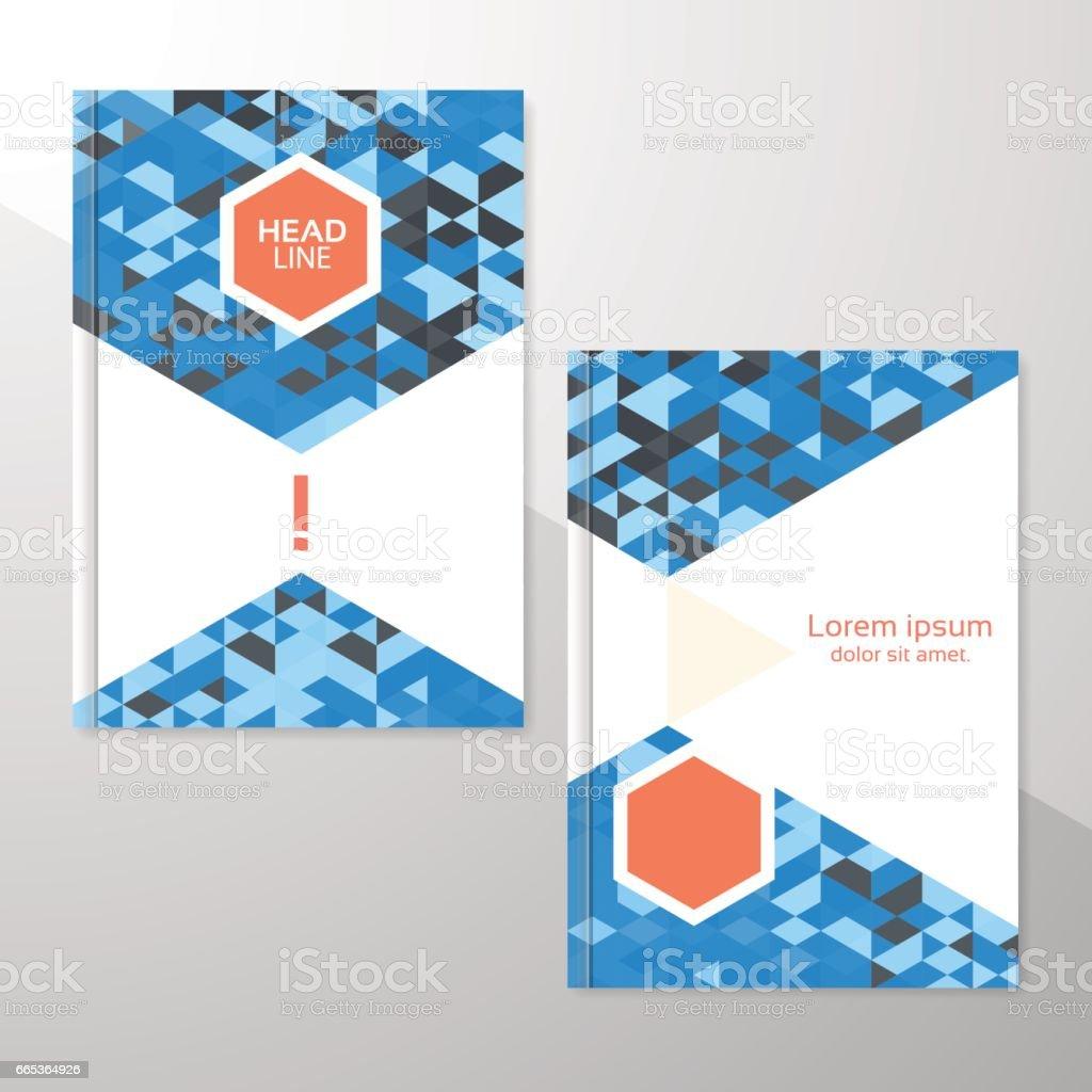 Folleto O Flyer Diseño Plantilla Libro De Diseño Diseño En Blanco ...