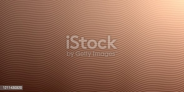 Modern and trendy abstract background. Geometric texture for your design (color used: brown). Vector Illustration (EPS10, well layered and grouped), wide format (2:1). Easy to edit, manipulate, resize or colorize.