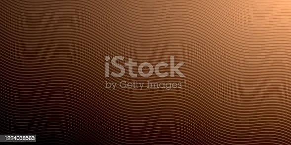 istock Abstract brown background - Geometric texture 1224038563