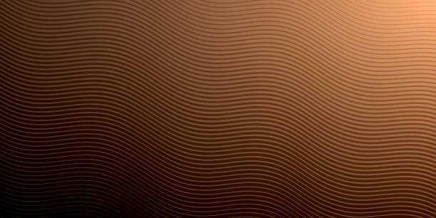 Abstract brown background - Geometric texture vector art illustration