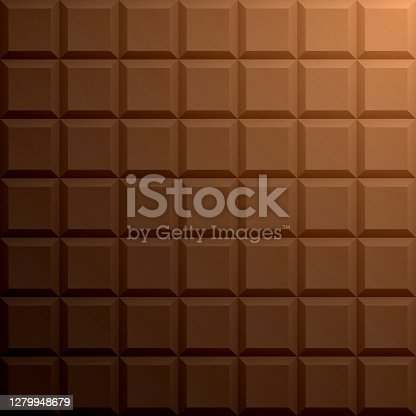 istock Abstract brown background - Geometric texture 1279948679