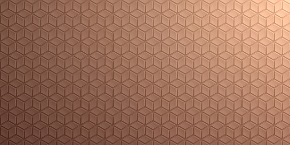 Abstract brown background - Geometric texture