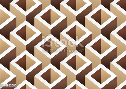 istock abstract brown cube pattern background 476982505