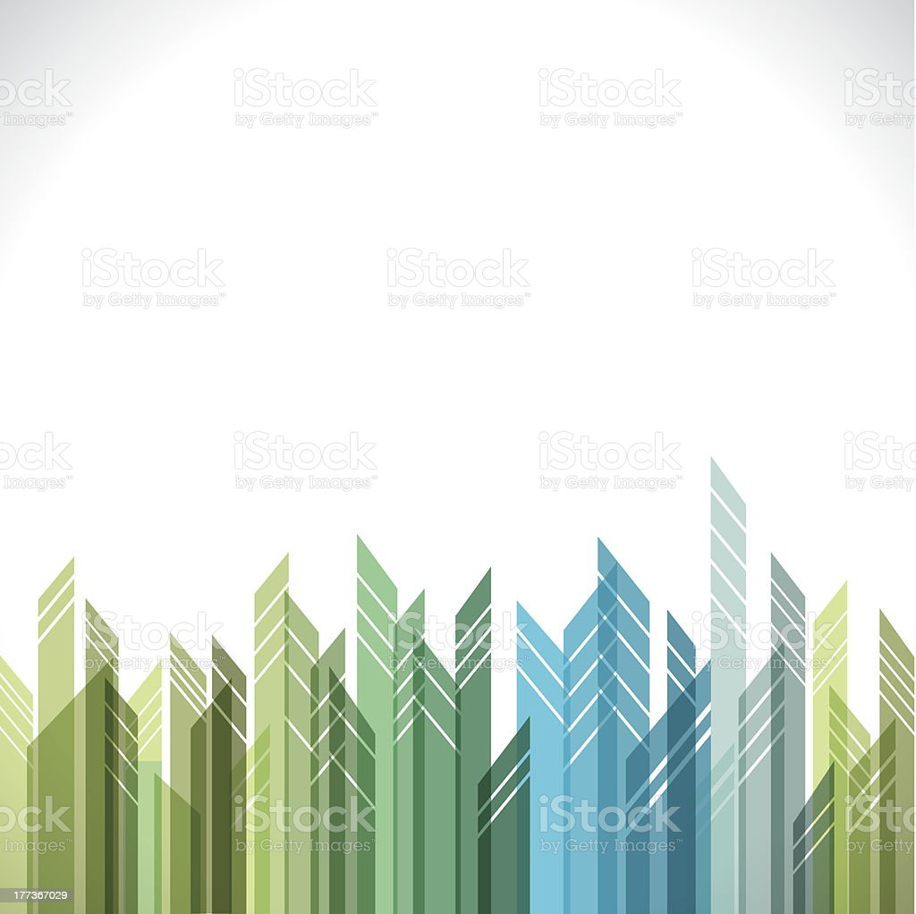 abstract building background royalty-free stock vector art