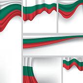 Abstract Bulgaria Flag, Bulgarian Vector Flag (Vector Art)