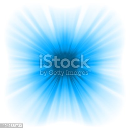 Abstract burst on white, easy edit. EPS 8 vector file included